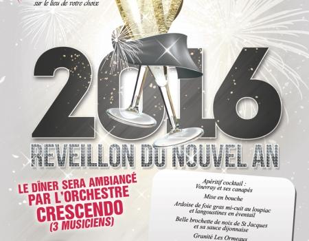 Réveillon 2015 à la salle les Ormeaux en Vendée